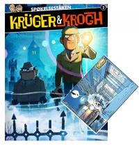 KRÜGER & KROGH 2 - SPØKELSESTÅKEN (ALBUM+TRYKK)