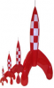 TINTIN - RAKETT (STOR)