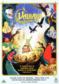 VALHALLA TEGNEFILM (DVD)