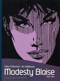 KLASSIKERSERIEN - MODESTY BLAISE 1965-1967