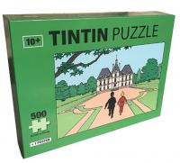 TINTIN PUSLESPILL - 500 BITER - MOULINSART SLOTT