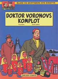 BLAKE OG MORTIMERS NYE EVENTYR 02 - DOKTOR VORONOVS KOMPLOT