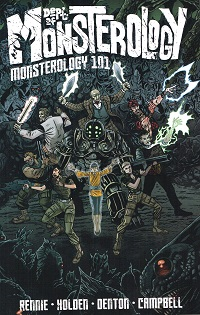 DEPT. OF MONSTEROLOGY 01 - MONSTEROLOGY 101