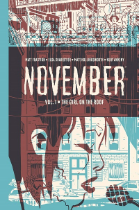 NOVEMBER VOL. 1 - THE GIRL ON THE ROOF