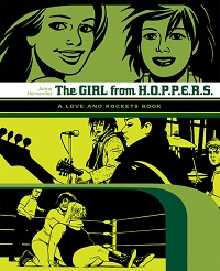 LOVE AND ROCKETS LIBRARY - LOCAS PART 2 - THE GIRL FROM H.O.P.P.E.R.S.