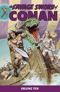 THE SAVAGE SWORD OF CONAN 10