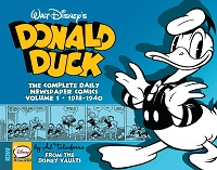 DONALD DUCK - THE COMPLETE DAILY NEWSPAPER COMICS 1938-1940