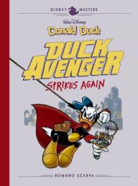 DISNEY MASTERS 08 - DONALD DUCK: DUCK AVENGER STRIKES AGAIN