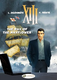XIII (UK) 19 - THE DAY OF THE MAYFLOWER
