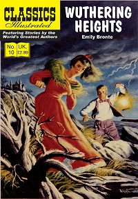 CLASSICS ILLUSTRATED (UK 010) - WUTHERING HEIGHTS