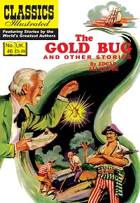 CLASSICS ILLUSTRATED (UK 046) - THE GOLD BUG AND OTHER STORIES