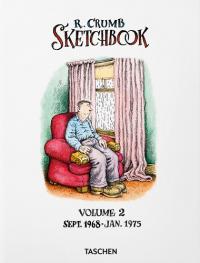 ROBERT CRUMB SKETCHBOOK VOL. 2 - SEPT. 1968-JAN. 1975