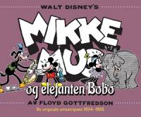 MIKKE MUS OG ELEFANTEN BOBO - DE ORIGINALE AVISSTRIPENE 1934 - 1935