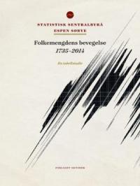 FOLKEMENGDENS BEVEGELSE 1735-2014 : EN TABELLSTUDIE