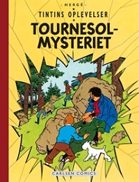 TINTIN DK RETROUTGAVE (1954/1956) - TOURNESOL-MYSTERIET