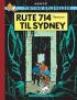 TINTIN DK RETROUTGAVE (1966/1968) - RUTE 714 TIL SYDNEY