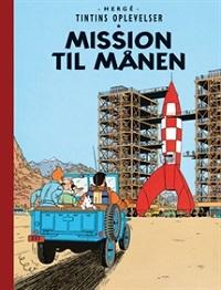 TINTIN DK RETROUTGAVE (1950/1953) - MISSION TIL MÅNEN