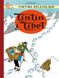 TINTIN DK RETROUTGAVE (1958/1960) - TINTIN I TIBET