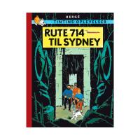 TINTIN DK RETROUTGAVE (1966) - RUTE 714 TIL SYDNEY