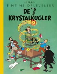 TINTIN DK RETROUTGAVE (1943/1948) - DE 7 KRYSTALKUGLER