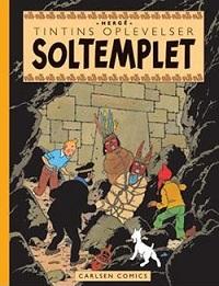 TINTIN DK RETROUTGAVE (1946/1949) - SOLTEMPLET