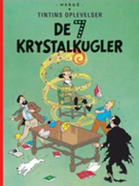 TINTIN DK (1943/1948) - DE 7 KRYSTALKUGLER