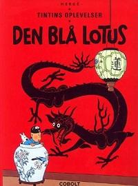 TINTIN DK (1934/1946) - DEN BLÅ LOTUS