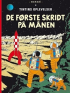 TINTIN (1954 DK) - DE FØRSTE SKRIDT PÅ MÅNEN
