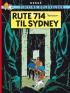 TINTIN (1968 DK) - RUTE 714 TIL SYDNEY