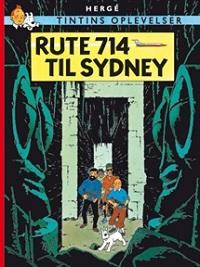 TINTIN DK (1966/1968) - RUTE 714 TIL SYDNEY