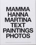 MAMMA HANNA MARTINA TEXT PAINTINGS SONGS