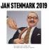 JAN STENMARK - VEGGKALENDER 2019