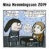 NINA HEMMINGSON - VEGGKALENDER 2019